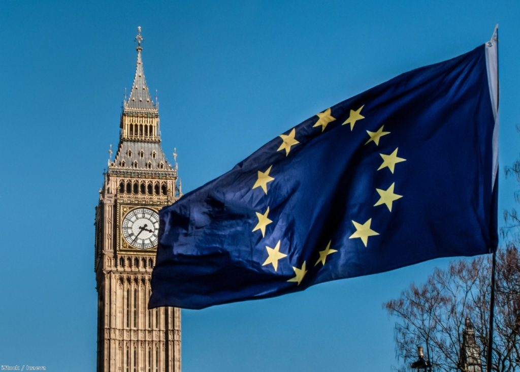 European Union flag in front of Big Ben | Copyright: iStock / luaeva