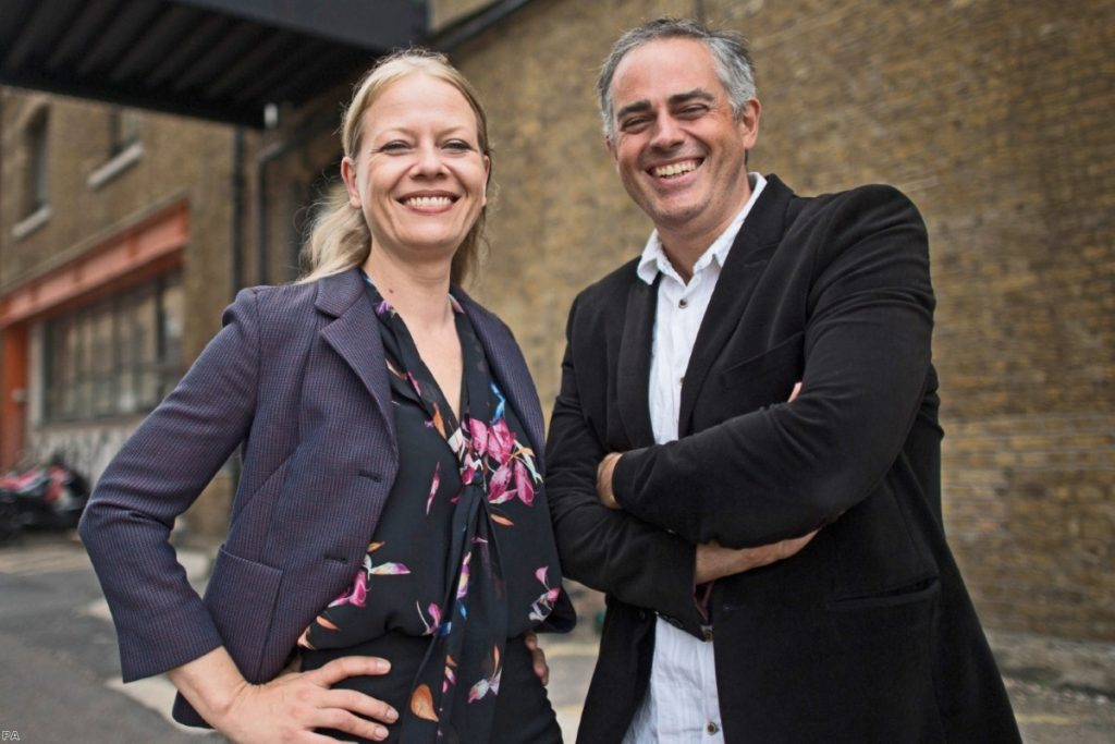 Joint Green Party of England and Wales leaders, Sian Berry and Jonathan Bartley | Copyright: PA