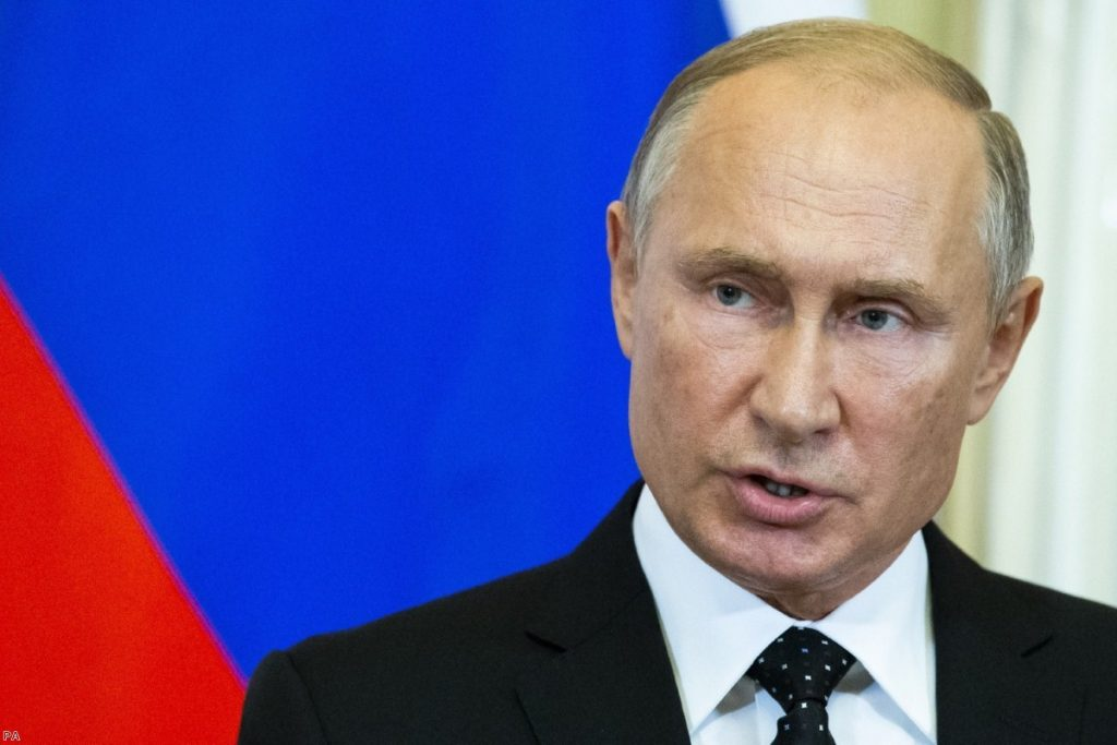 Russian President Vladimir Putin | Copyright: PA