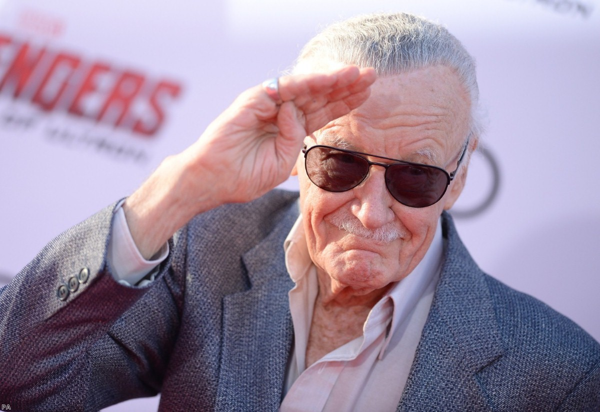 Stan Lee died yesterday, at the age of 95.