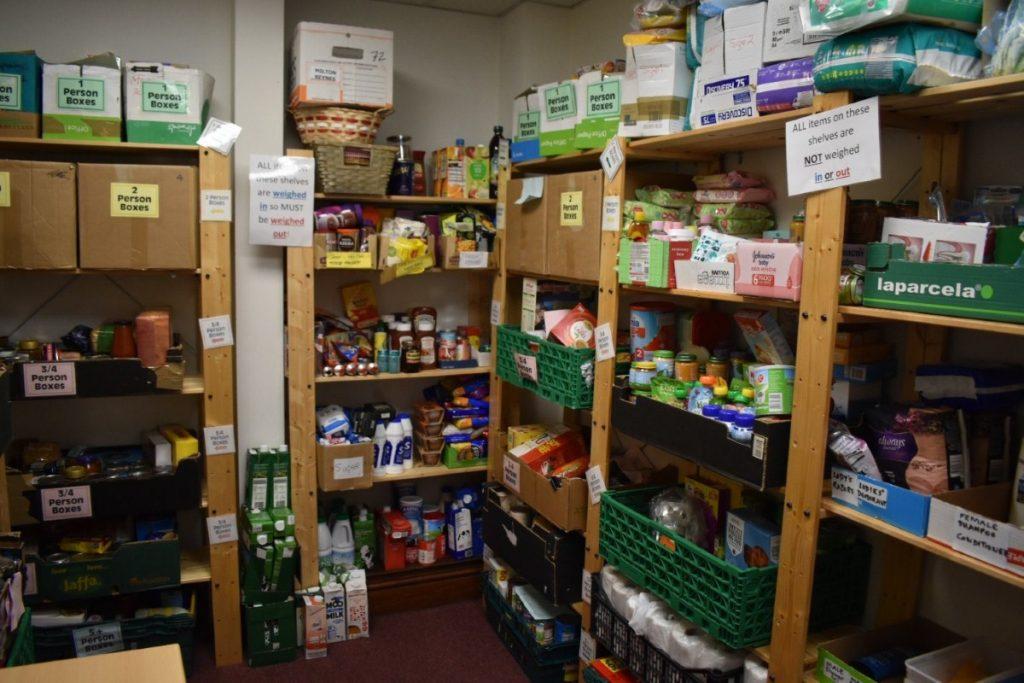 The Northampton food bank: Users often care as much about the advice as they do the supplies