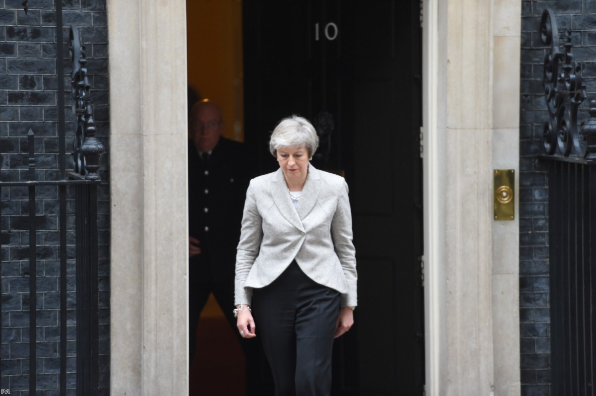 Alone: The prime minister's deal pleases no-one