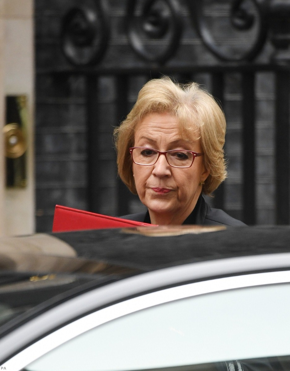Leadsom issued a smear on Bercow after clash in he Commons