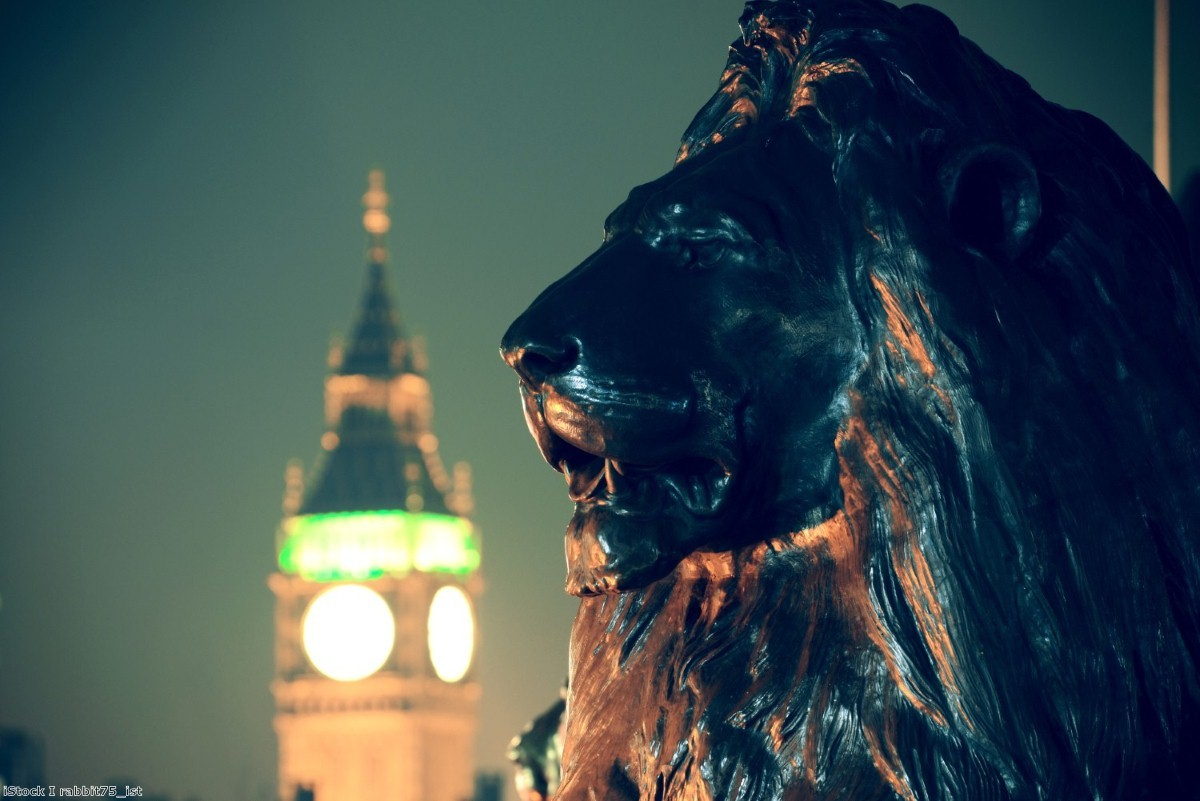 The lion roars. But more of a whimper really.