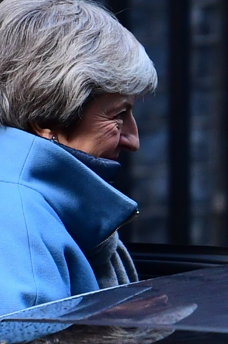 May seeks only short extension to Article 50, despite comments last week indicating the opposite