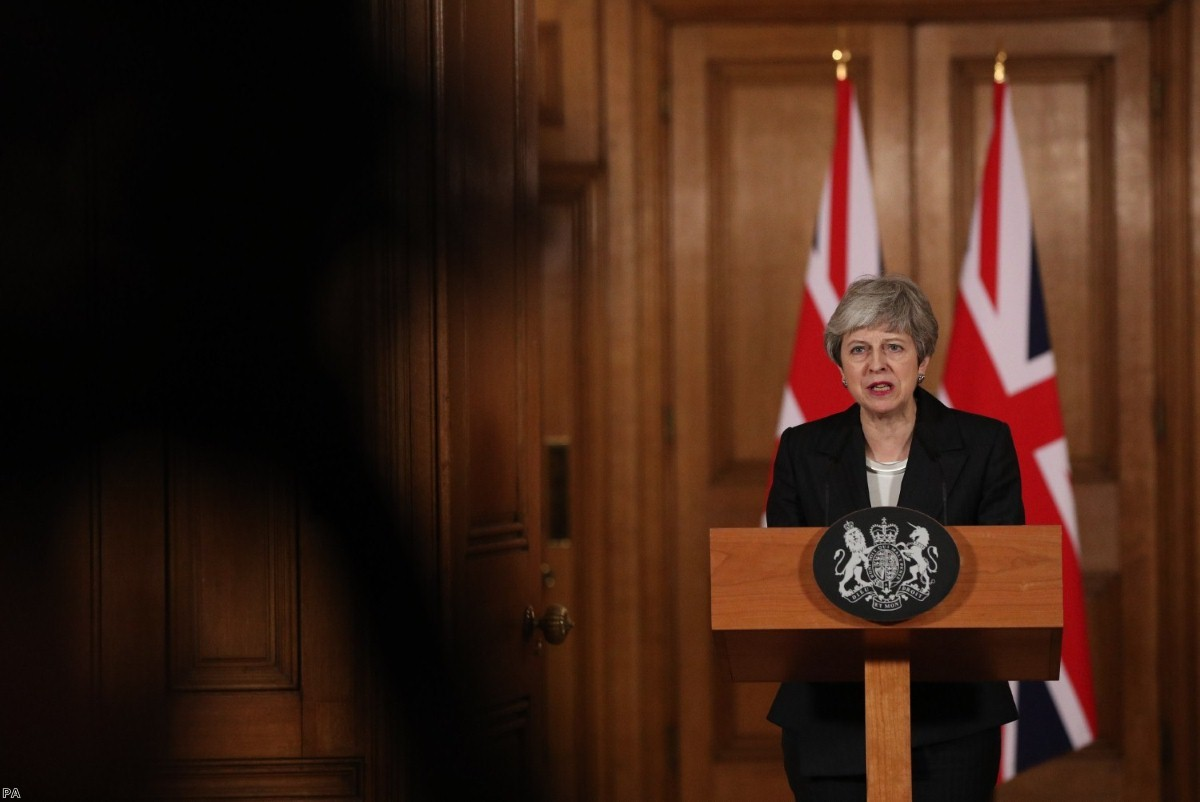 Theresa May's speech yesterday again refused to take any personal responsibility for the situation the country found itself in