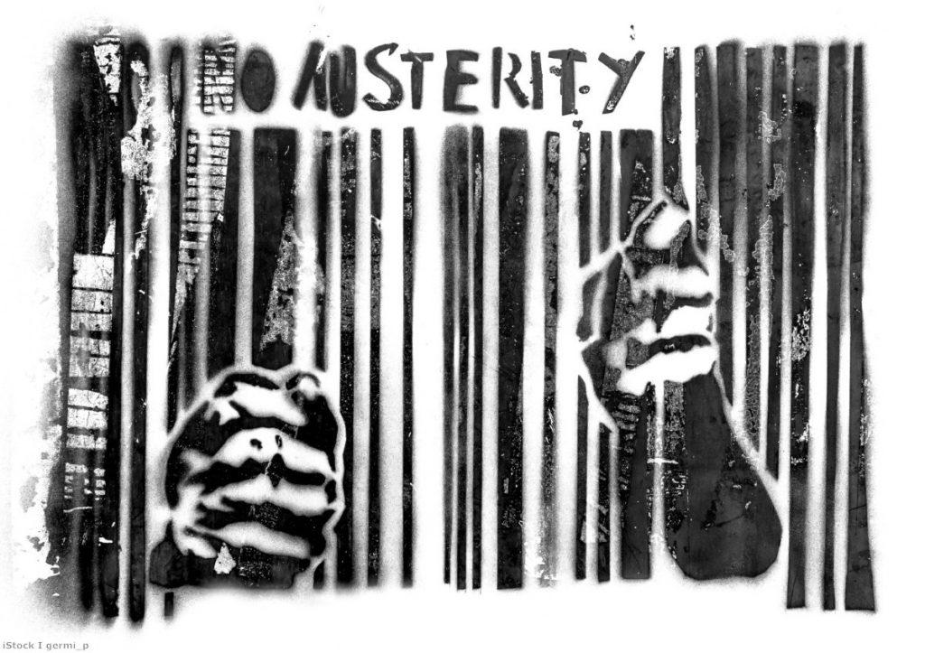 Austerity: Still taking place, still forgotten in the Westminster debate