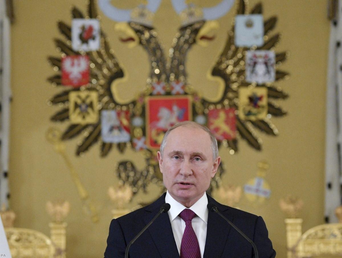 "Putin: ""The liberal idea has become obsolete."""