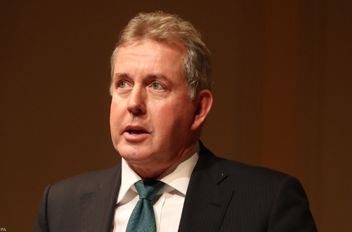 Sir Kim Darroch decided to resign as the UK ambassador to the US yesterday