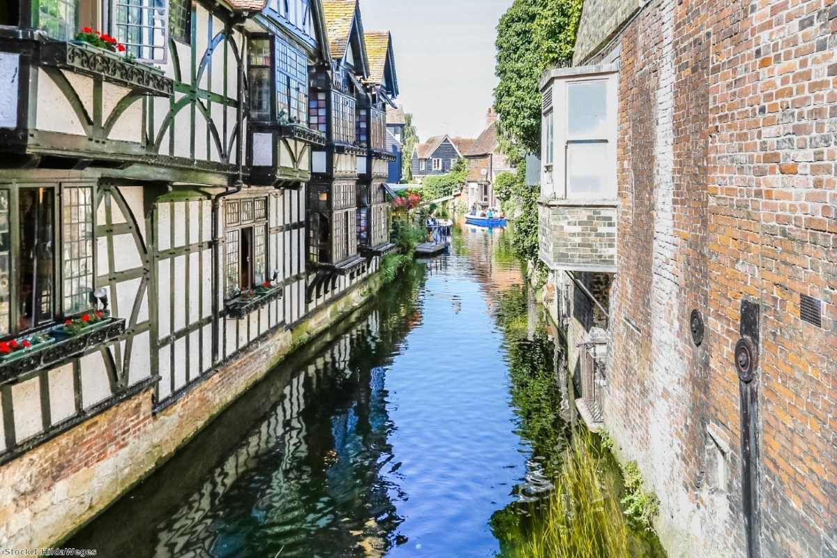 The ancient centre of Canterbury. The seat is at the centre of debates over a split Remain vote.
