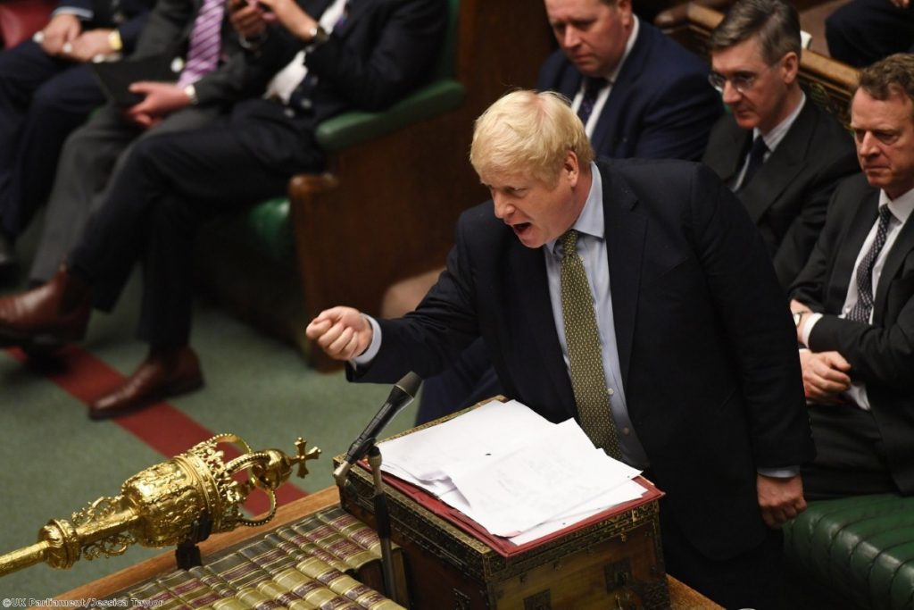Boris Johnson returns to the Commons after the Christmas break