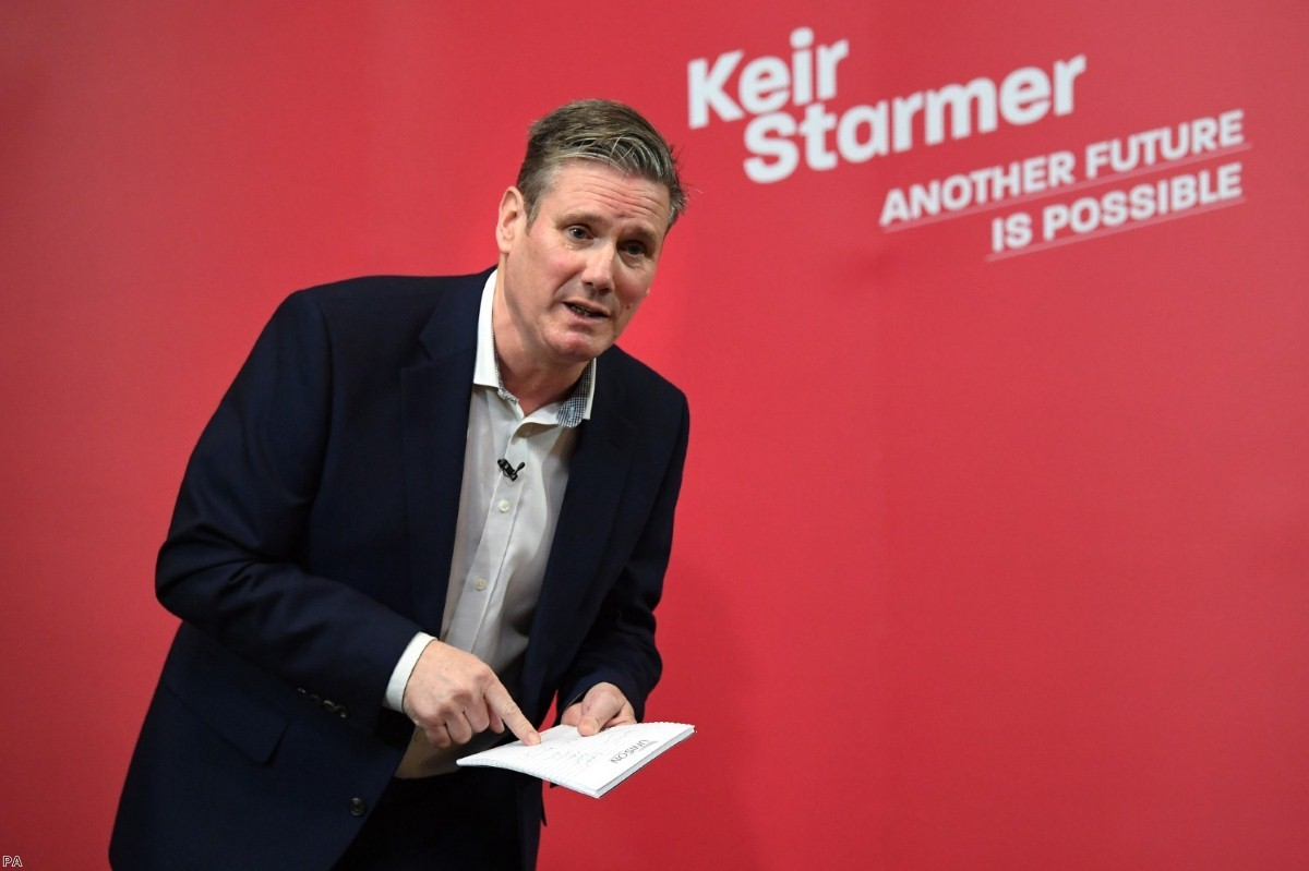 Keir Starmer is currently expected to win the Labour leadership contest.