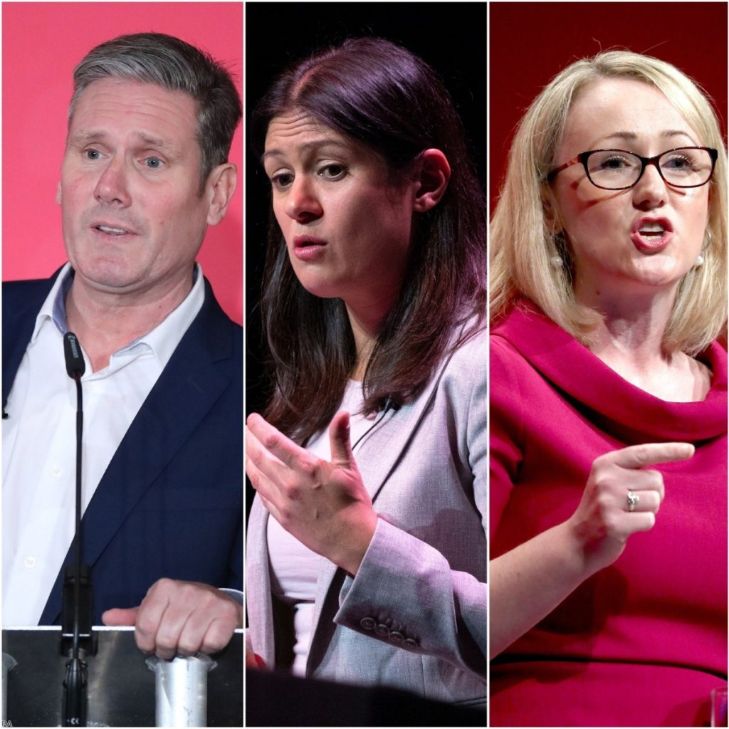 The final three: Keir Starmer, Lisa Nandy and Rebecca Long-Bailey