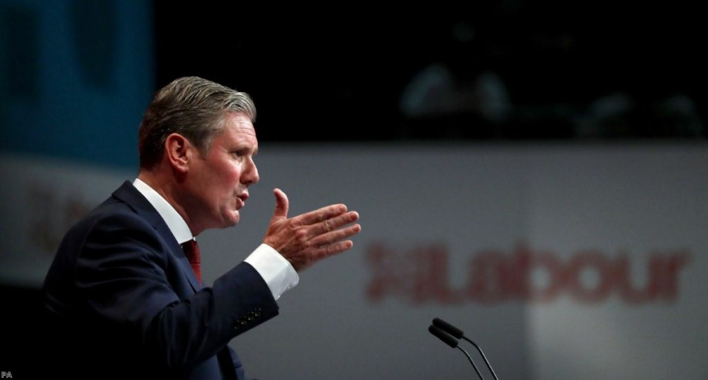 Keir Starmer has become the new leader of the Labour party.