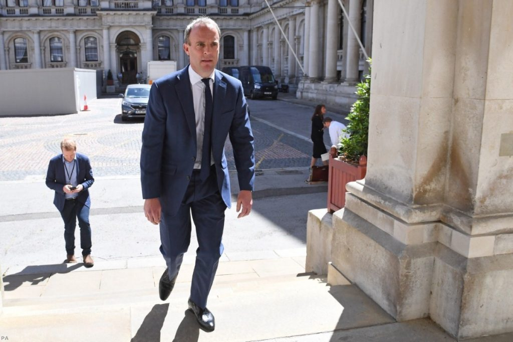 Dominic Raab introduced the UK's new Global Human Rights Sanctions Regime earlier this month.