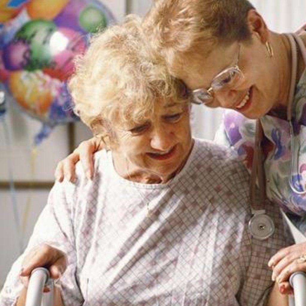 Gordon Brown addresses social care services