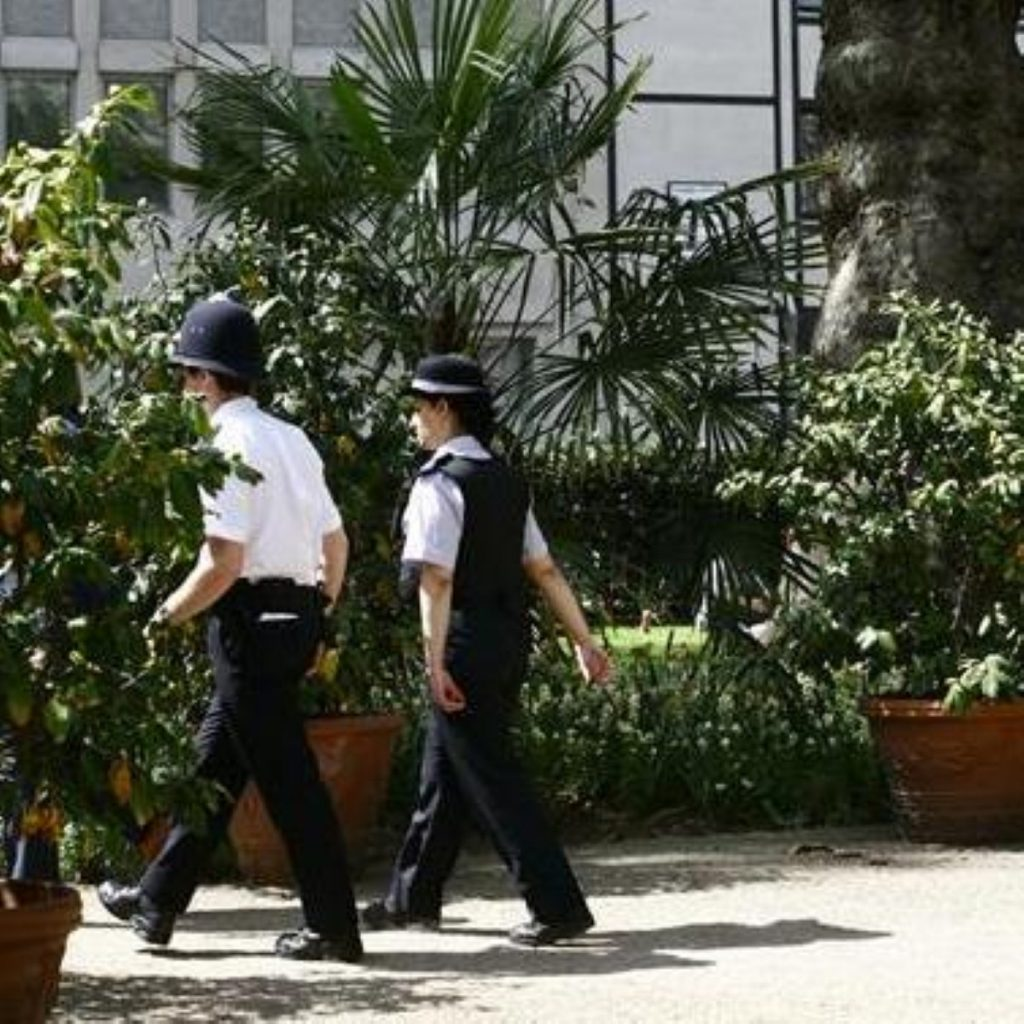 Police will be allowed to follow rowdy groups
