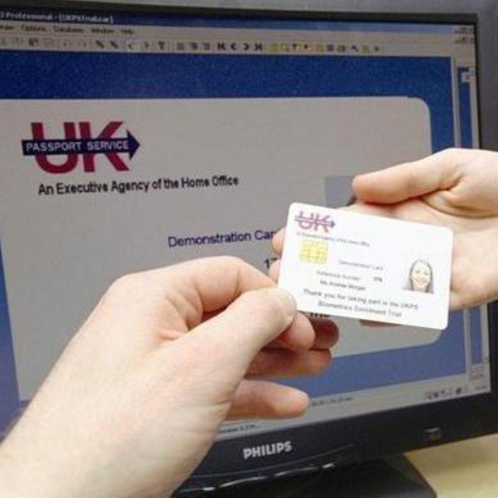 Brown: ID cards vital against terror threat