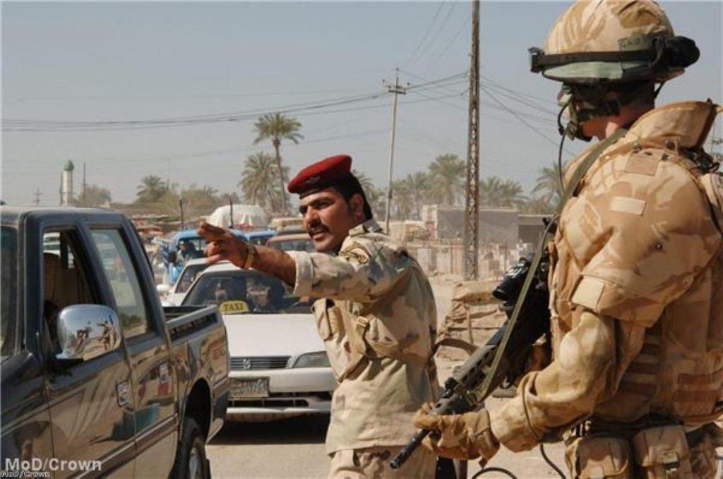 A security clampdown in Basra