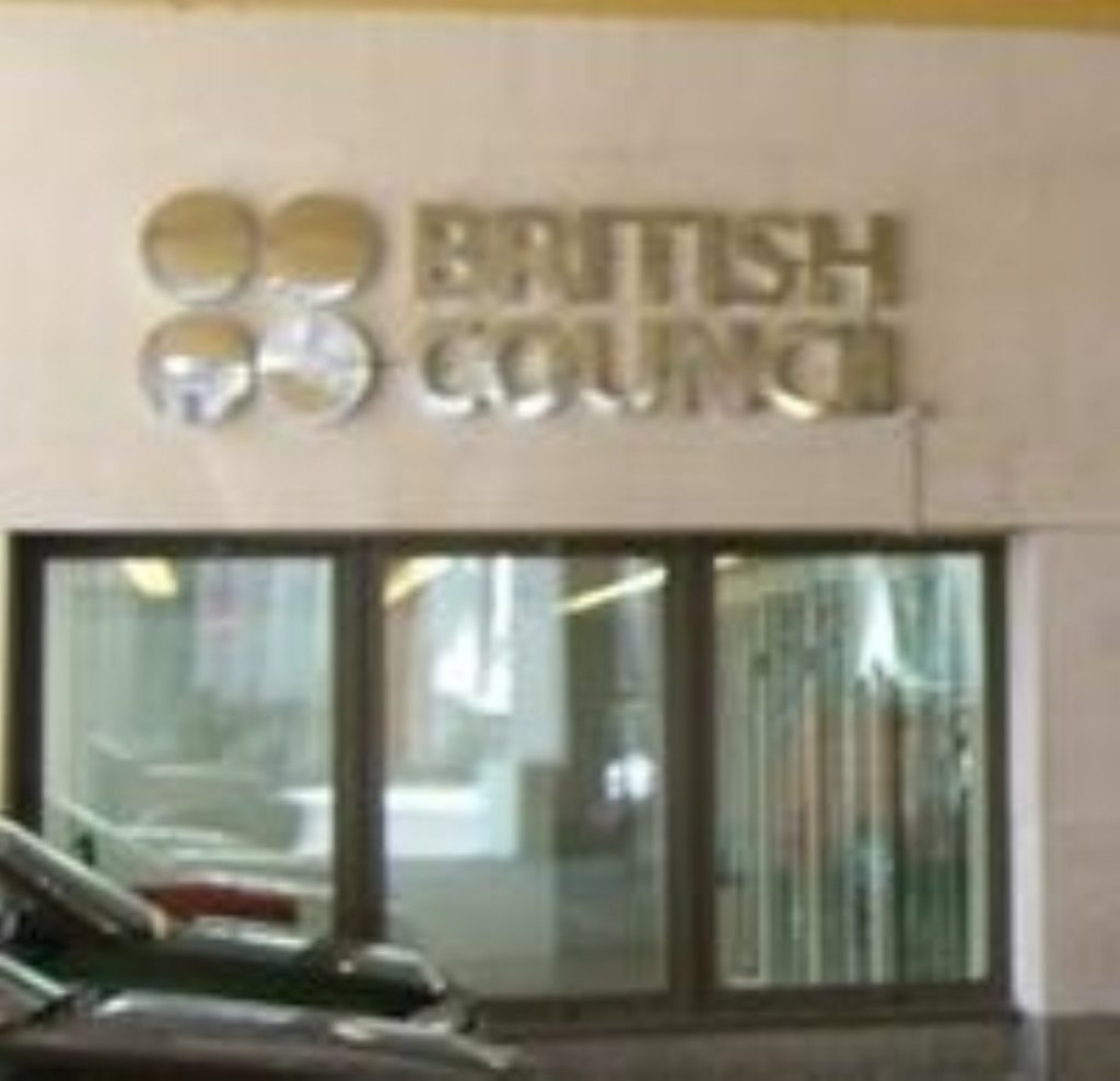 The British Council: 'It could do better'