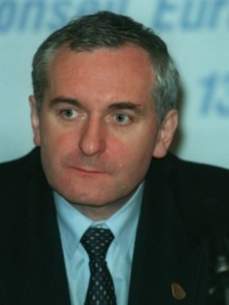 Ahern warned parties they must form an executive
