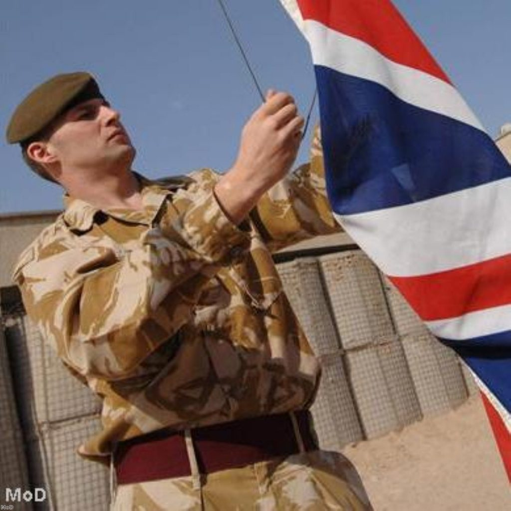 """British army has """"almost no capability to react to the unexpected"""""""