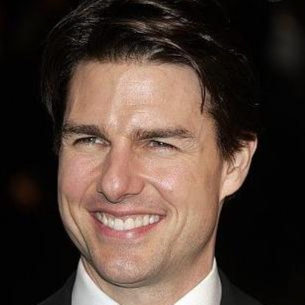 Tom Cruise, the world's most high-profile Scientologist