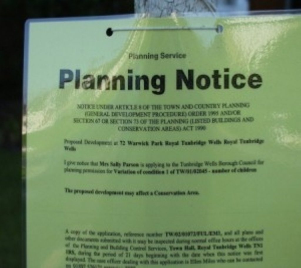 A planning issue appears to be at the centre of the dispute