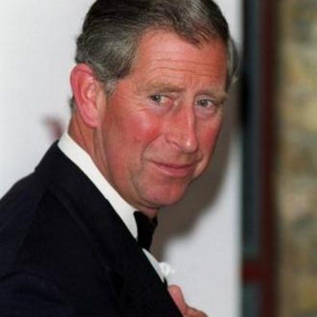 Racial row reaches Prince Charles
