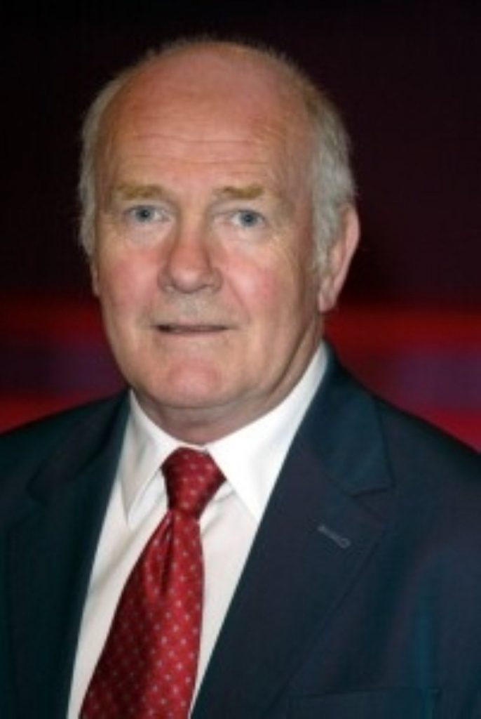 John Reid will stand down at the same time as Mr Blair