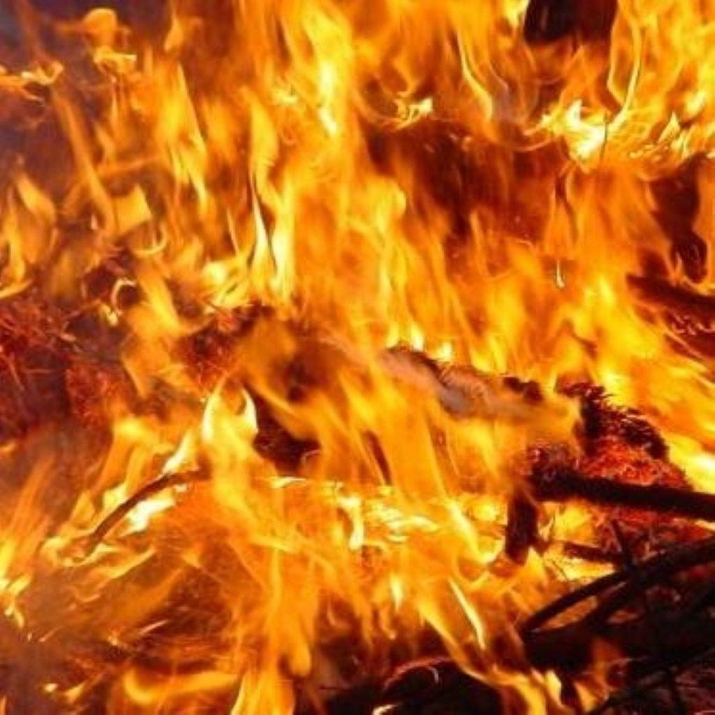 Bonfire next strikes next week.