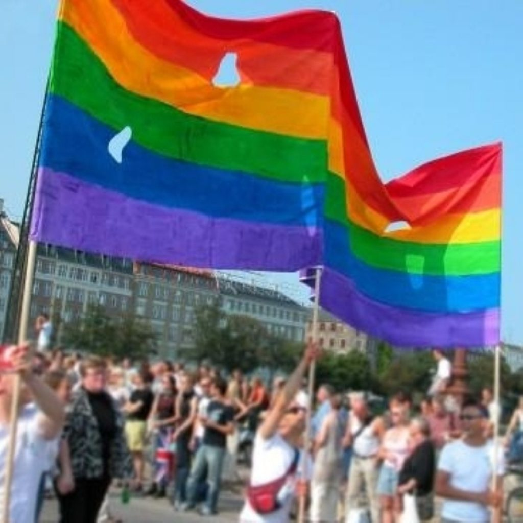 Boost for gay couples