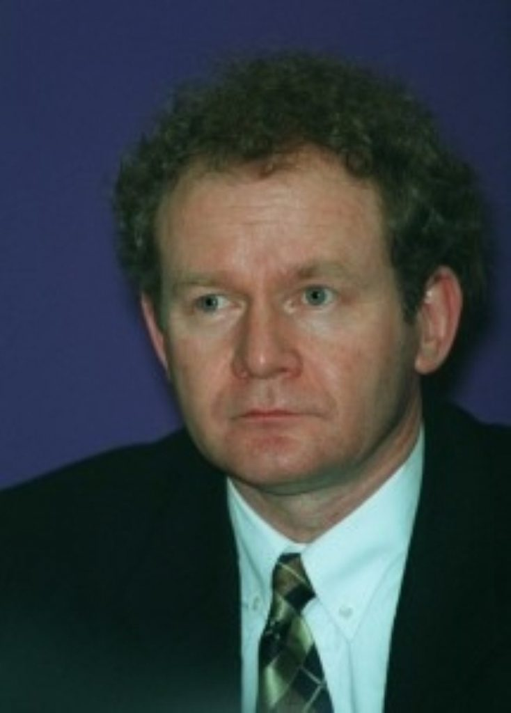 Martin McGuinness rejects claims he is a British spy