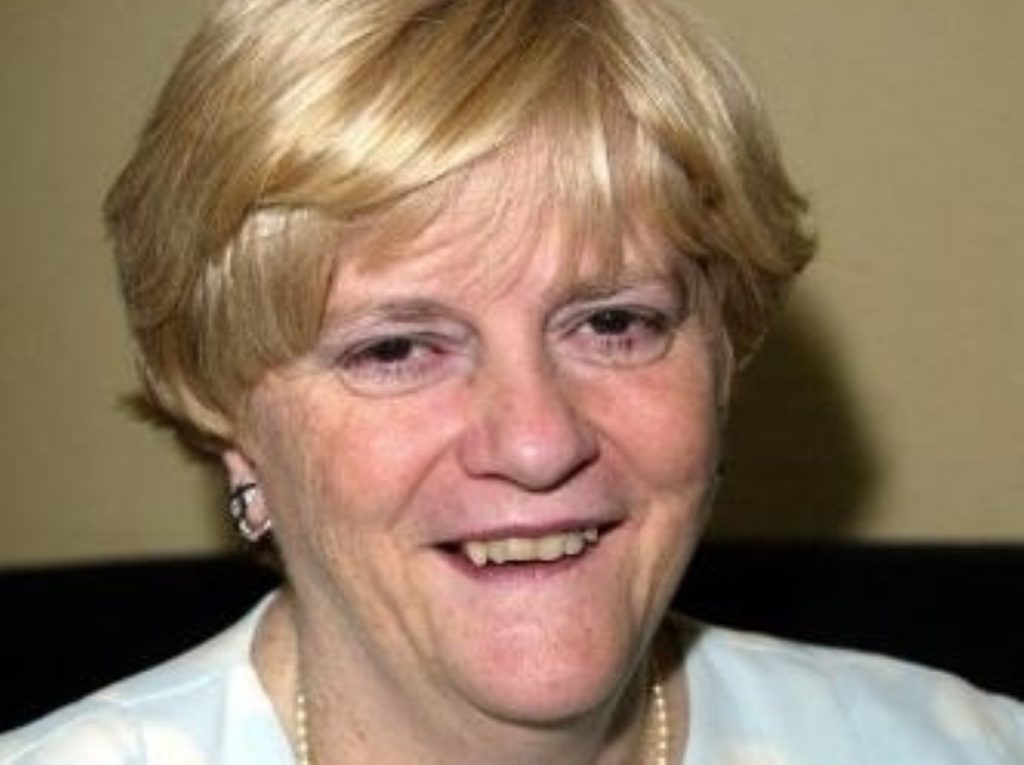 Ann Widdecombe has been engaging the disengaged - or trying to, at least