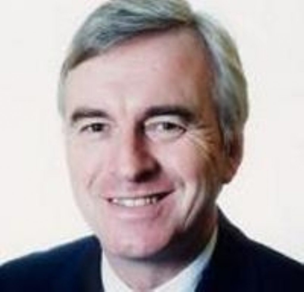 John McDonnell is among those backing the trade union freedom bill