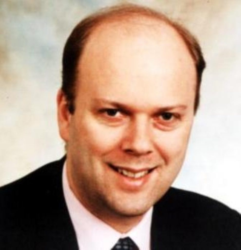 Chris Grayling: joining Andrew Lansley's health team