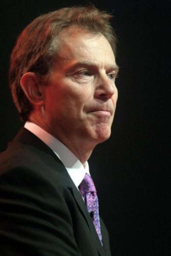 Tony Blair says police were right to act on intelligence in last Friday's raid