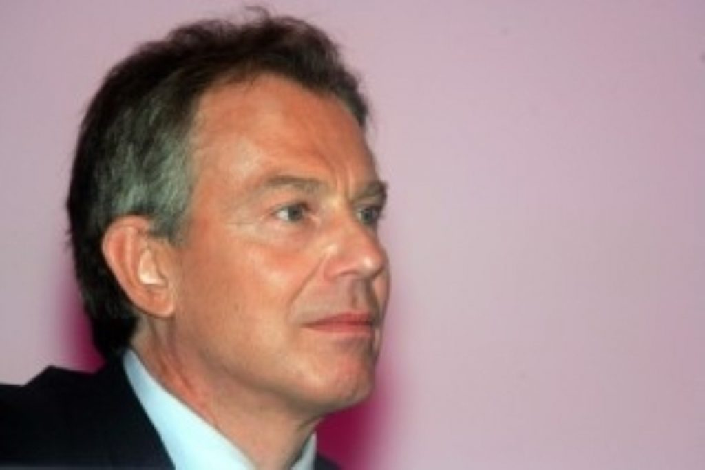 Blair has maintained contact with world leaders during his holiday