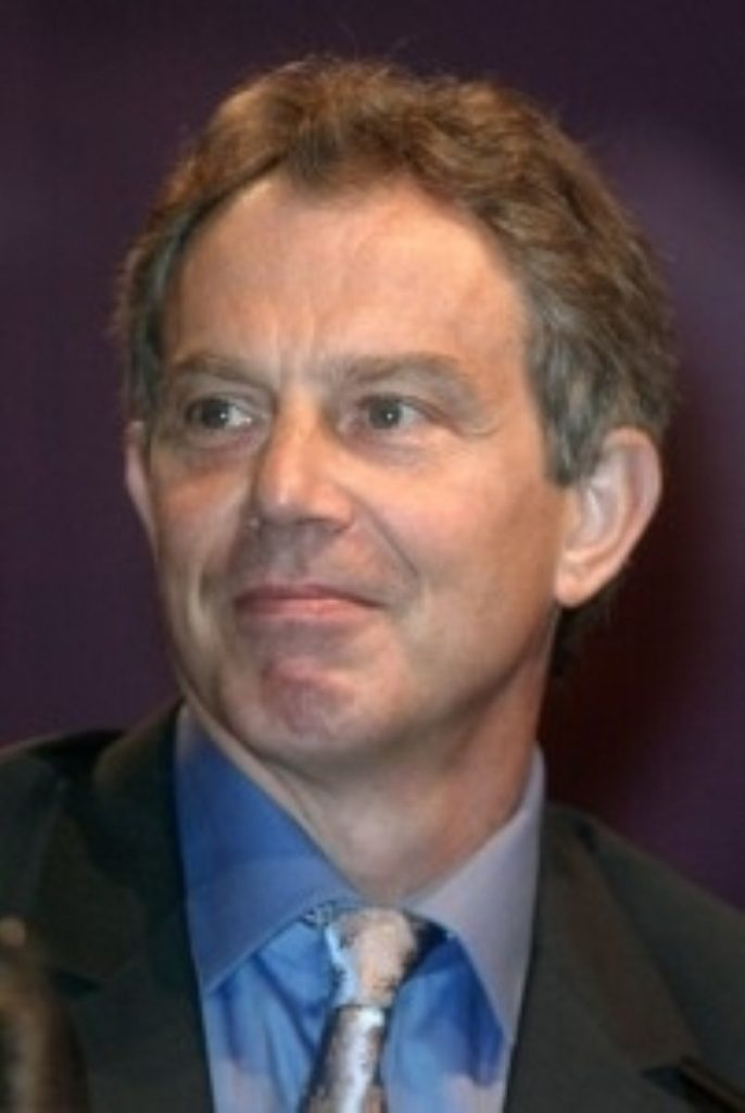 Blair: economic record will be at the centre of the campaign