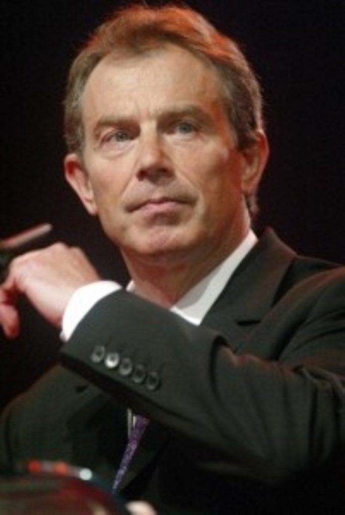 Tony Blair reaffirms his support for the Trident nuclear system