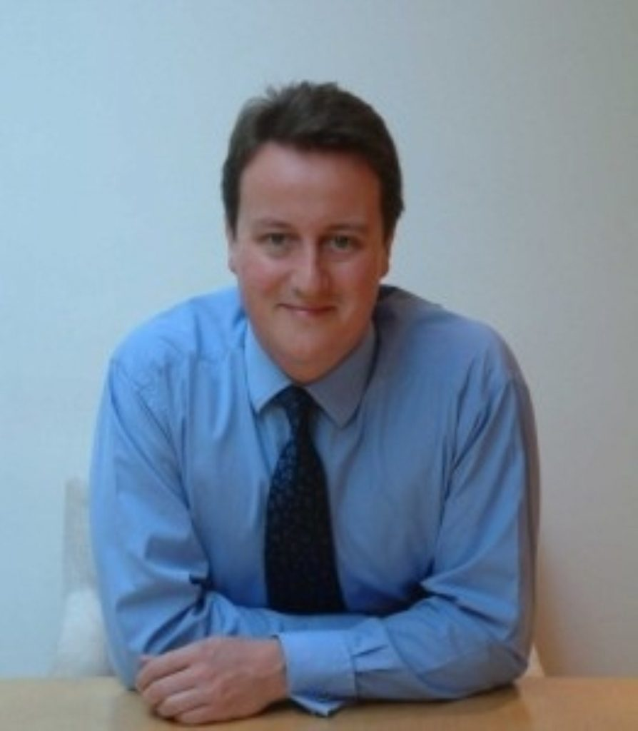David Cameron says the Tories stand for love and justice