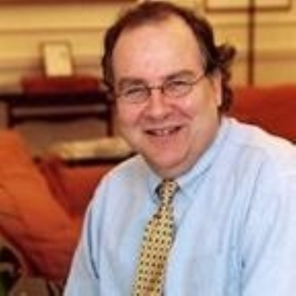 Lord Falconer said the government is more important than the legal system when it comes to the fight against terrorists