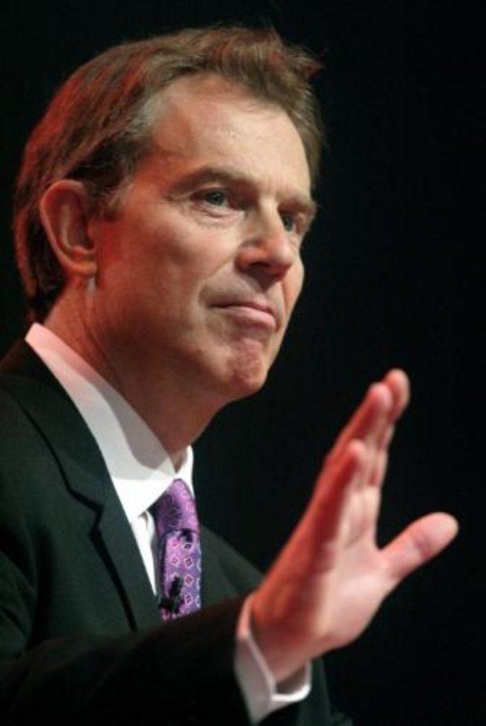 Blair: The Conservatives would cut public services