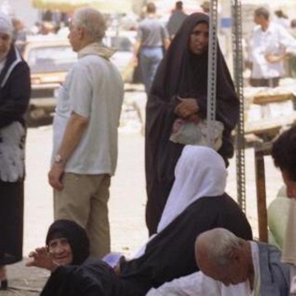 Iraq takes first step on democratic path