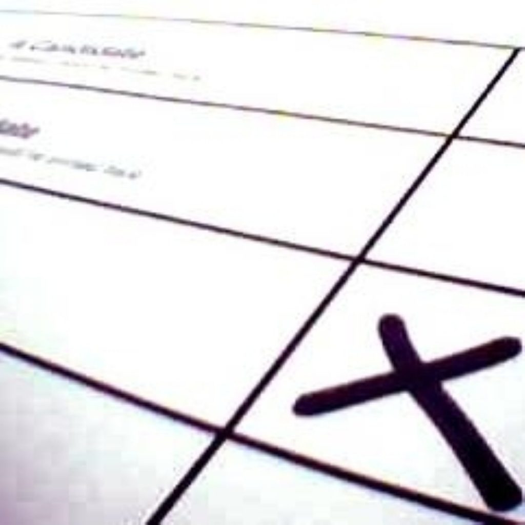 Guillotined: Several candidates were left off ballot papers