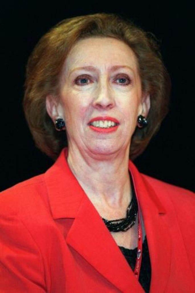 Margaret Beckett defends Labour's active foreign policy to the TUC