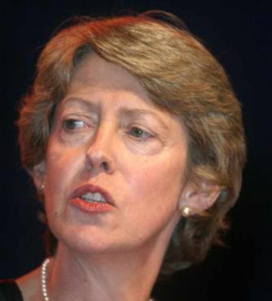 Patricia Hewitt rejected calls from the Catholic church to review abortion law