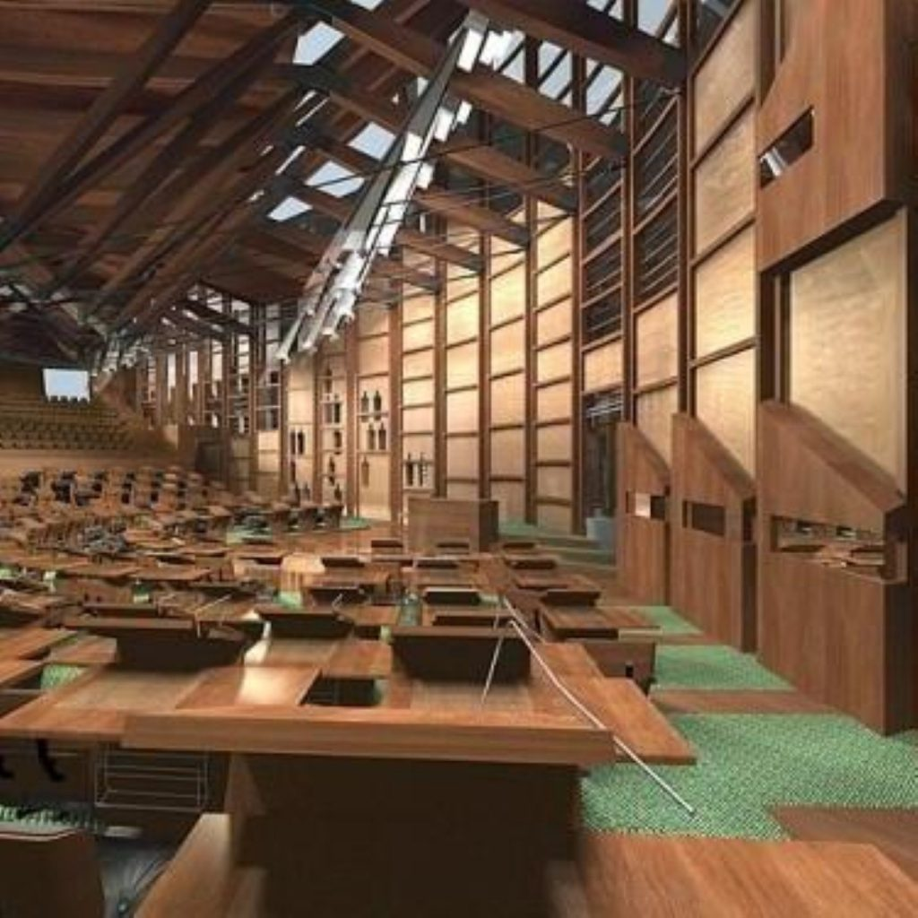 Salmond pushes for more powers for Holyrood