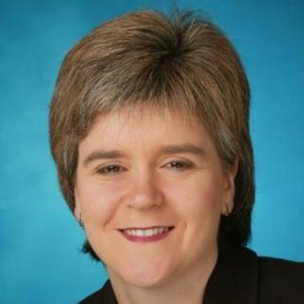 Sturgeon promises to help 'hard working families'