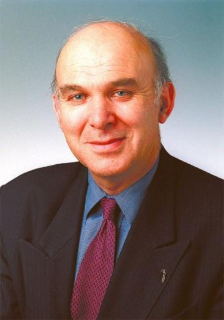 Treasury spokesman Vince Cable said some areas of public spending must be cut